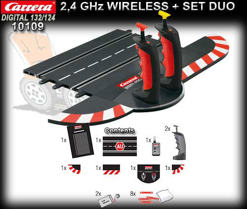 CARRERA D132/124 10109 - 2.4GHz Wireless+ Set Duo