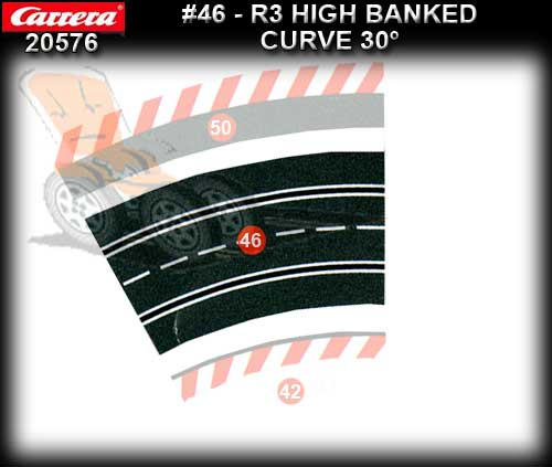 CARRERA TRACK 20576 - High Banked Curve R3/30degree