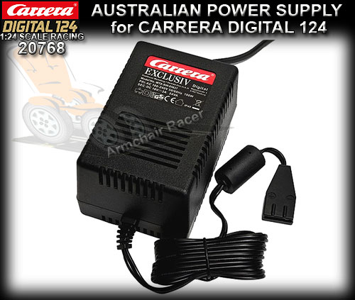 CARRERA 20768 - Australian Power Supply for Digital 124