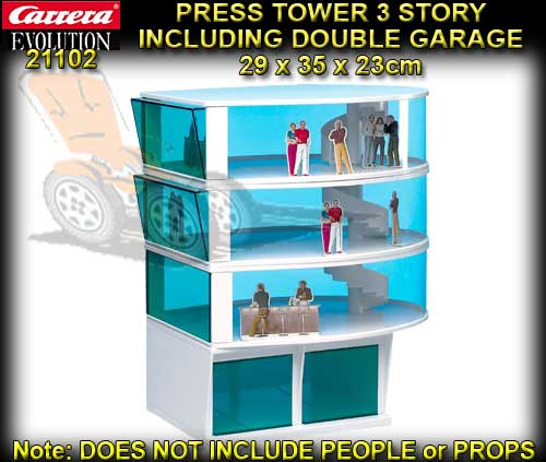 CARRERA TRIPLE STORY TOWER 21102 - Including double garage