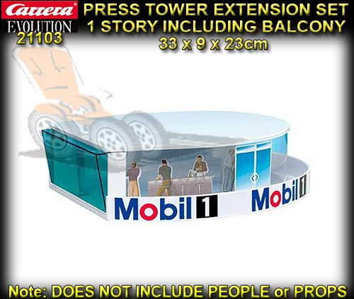 CARRERA PRESS TOWER EXT. 21103 - Press Tower Extension Set