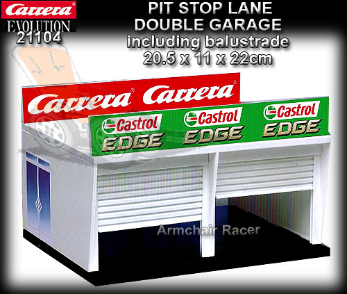 CARRERA PIT STOP GARAGE 21104 - Double Garage