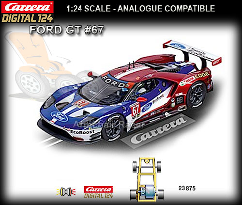 CARRERA DIGITAL 1:24 23875 - Ford GT #67
