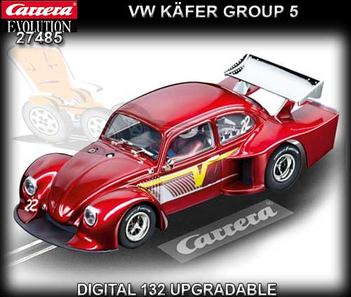 CARRERA 27485 - VW Kafer 'Group 5' - Red