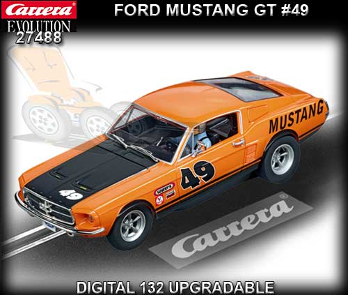 CARRERA 27488 - Ford Mustang GT #49