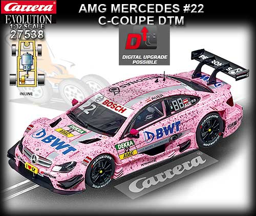 CARRERA 27538 - Mercedes AMG C-Coupe DTM - BWT #22