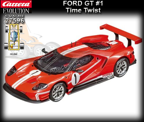 CARRERA 27596 - Ford GT (red) - Time Twist #1