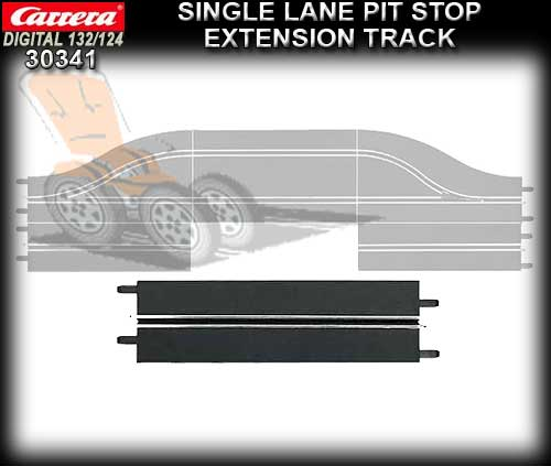 CARRERA D132/124 30341 - Single Lane Pit Stop Extension