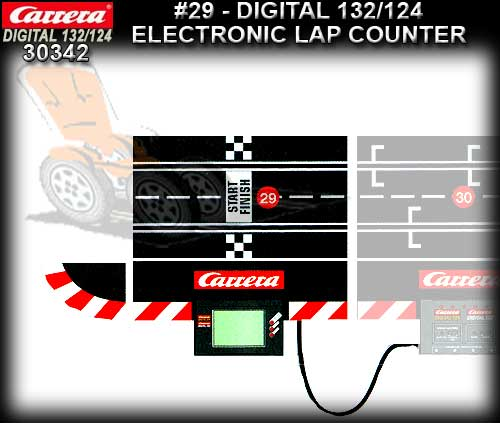 CARRERA D132/124 30342 - Digital Electronic Lap Counter