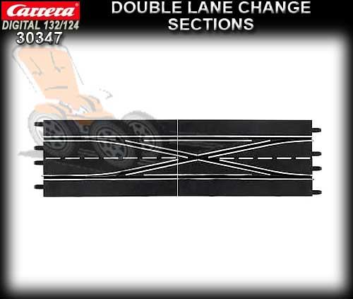 CARRERA D132/124 30347 - Double Lane Change Section