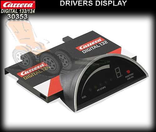 carrera d132 124 30353 driver display 30353. Black Bedroom Furniture Sets. Home Design Ideas