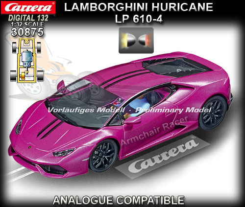 CARRERA DIGITAL 132 30875 - Lamborghini Huracan LP 610-4