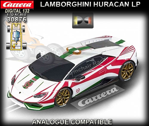 CARRERA DIGITAL 132 30876 - Lamborghini Huracan GT3 - Safety car