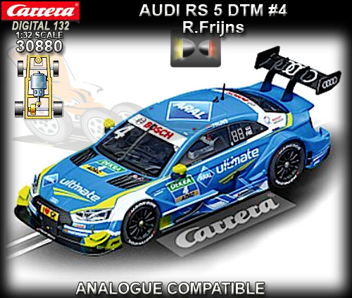 CARRERA DIGITAL 132 30880 - Audi RS DTM - Robin Frijns #4