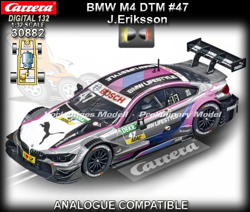 CARRERA DIGITAL 132 30882 - BMW M4 DTM - Joel Eriksson #47