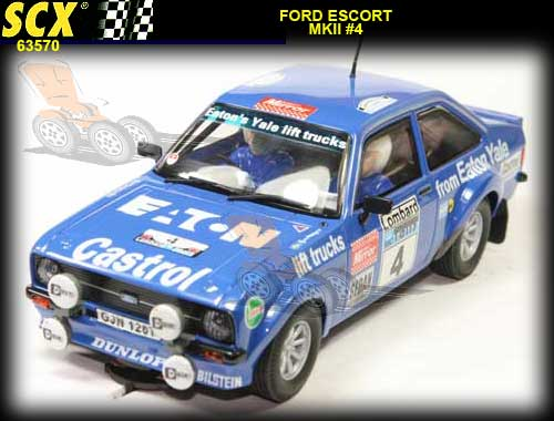 SCX 63570 - Ford Escort MKII Eaton Vale #4 LIMITED EDITION