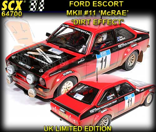 SCX 64700 - Ford Escort MKII- Colin McRae #11Dirt Effect LTD.ED.