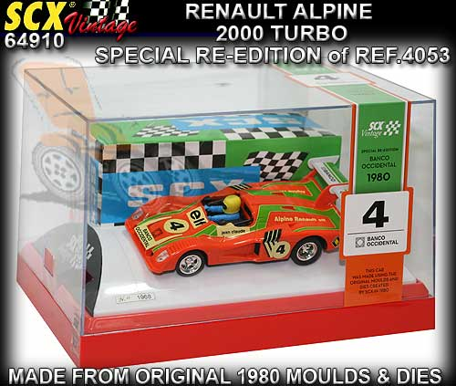 SCX 64910 - Renault Alpine 2000 - Numbered Limited Edition