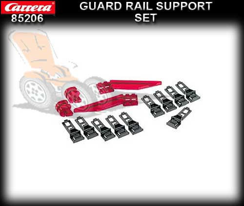 CARRERA TRACK 85206 - Guard Rail Support set