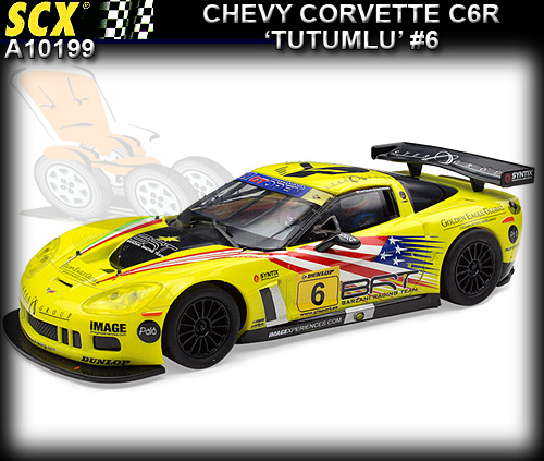 SCX A10199 - Chevrolet Corvette C6R #6 - Barzani Racing Team