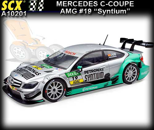 SCX A10201 - Mercedes AMG C-Coupe DTM GT3 #19 'Petronas Syntum'