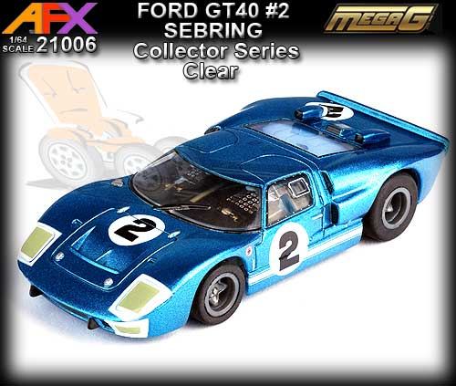 AFX HO 21006 - Collector Series - Ford GT40 #2