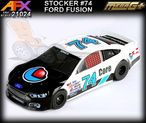 AFX HO 21024 - Ford Fusion Stocker #74