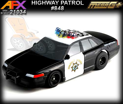 AFX HO 21034 - Highway Patrol car #848