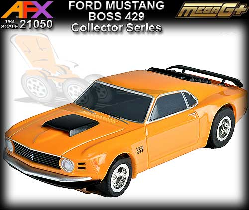 AFX HO 21050 - Ford Mustang Boss 429 - Orange