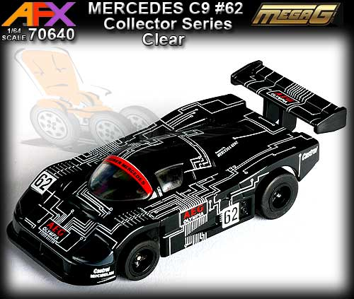AFX HO 70640 - Collector Series - Mercedes C9 #62