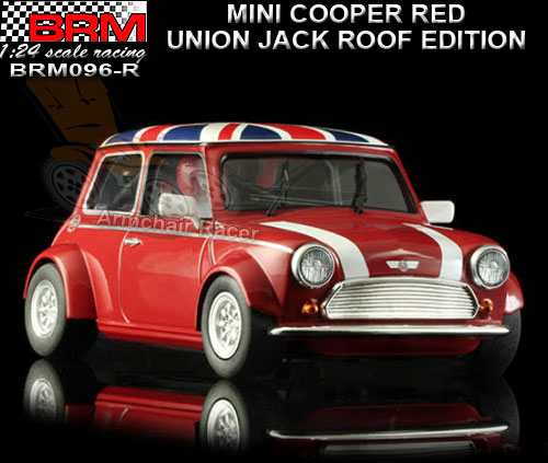 BRM 1:24 BRM096R - Mini Cooper - Red Union Jack