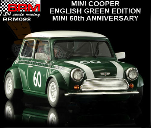 BRM 1:24 BRM098 - Mini Cooper - English Green Edition #60