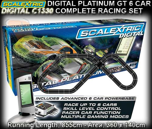 Scalextric digital slot car sets create a blind poker