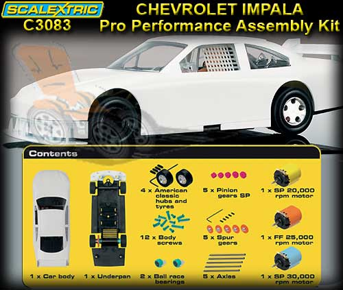 SCALEXTRIC C3083 - Pro Performance Chevrolet Impala SS