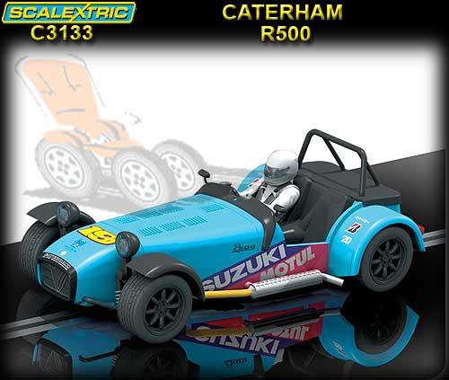 Caterham R500 Blue [C3133]