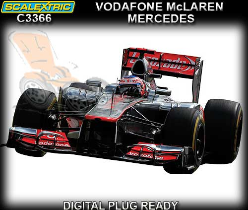 SCALEXTRIC C3366 - Vodafone McLaren-Mercedes 2013 - DUE 2013