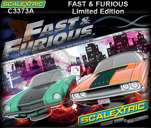 SCALEXTRIC C3373A - Fast & Furious Twin pack - DUE 2013