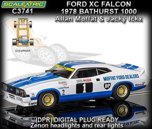 SCALEXTRIC C3741 - Ford XC Falcon - Bathurst 1978 Moffat & Ickx