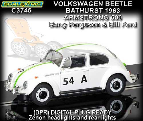 SCALEXTRIC C3745 - VW Bathurst Armstrong 500 1963 Ferguson/Ford