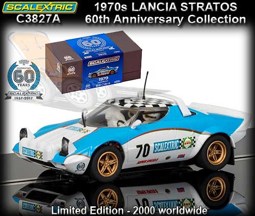 SCALEXTRIC C3827A - 60th Anniversary - Lancia Stratos #70