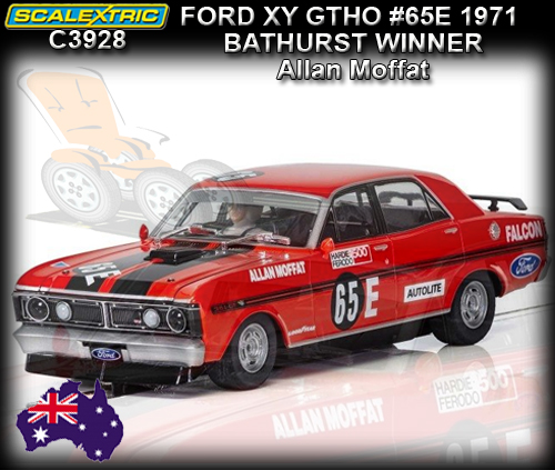 SCALEXTRIC C3928 - Ford XY GT-HO Falcon - winner Bathurst 1971