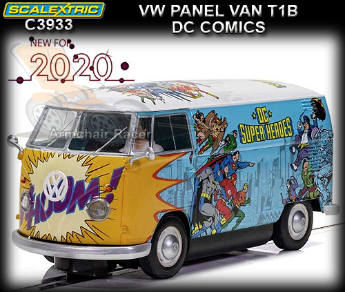 SCALEXTRIC C3933 - VW Campervan - Jungle livery (DPR)