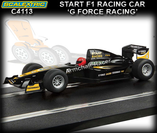 SCALEXTRIC C4113 - Start F1 Racing - 'G Force Racing' #4