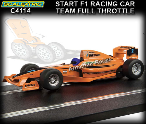 SCALEXTRIC C4114 - Start F1 Racing - 'Team Full Throttle' #2