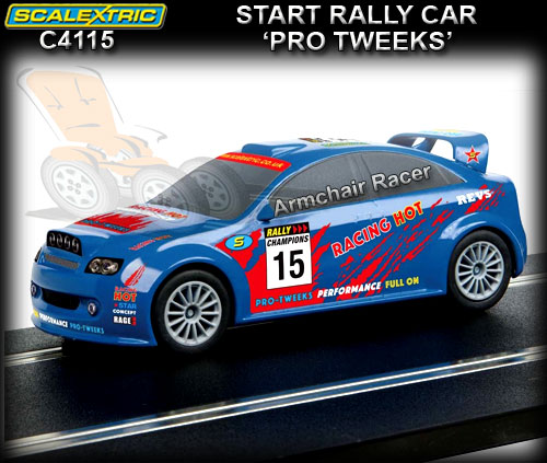SCALEXTRIC C4115 - Start Rally - 'Pro Tweeks' #15