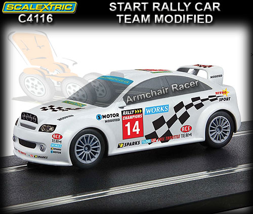 SCALEXTRIC C4116 - Start Rally - 'Team Modified' #14