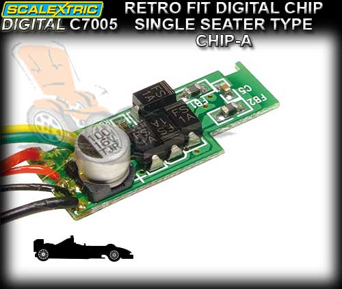 SCALEXTRIC SSD CHIP C7005 - F1 Car Micro Chip