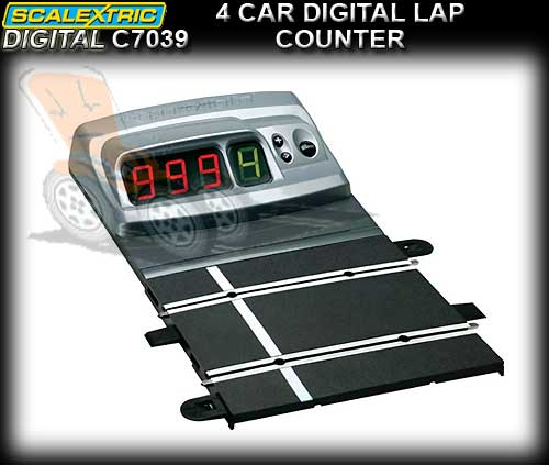 SCALEXTRIC SSD TRACK C7039 - 4 Car Digital Lap Counter