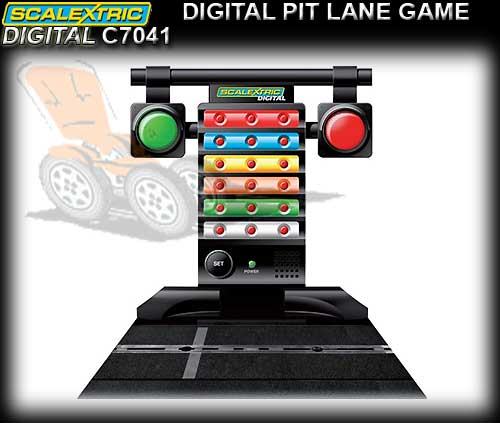 SCALEXTRIC SSD TRACK C7041 - Digital Pit Lane Game