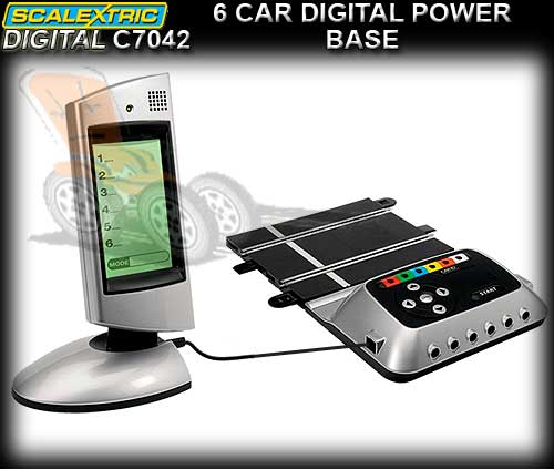 SCALEXTRIC SSD TRACK C7042 - 6 Car Digital Power Base